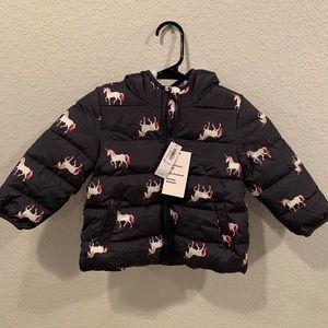 *NEW* 2T Unicorn puffer coat!